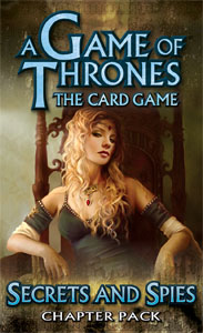 A Game of Thrones (LCG): Secrets and Spies Pack (engl.)