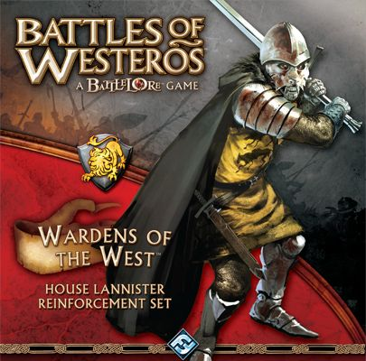 Battles of Westeros: Wardens of West (Exp.) (engl.)