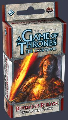 A Game of Thrones (LCG): Rituals of R´hllor (Exp.) (engl.)