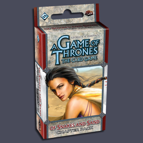 A Game of Thrones (LCG): Of Snakes and Sand (Exp.) (engl.)