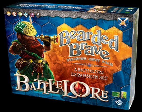BattleLore: Bearded Brave (Exp.) (engl.)