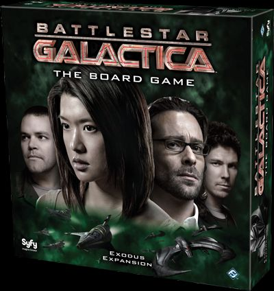 Battlestar Galactica: Exodus (Exp.) (engl.)