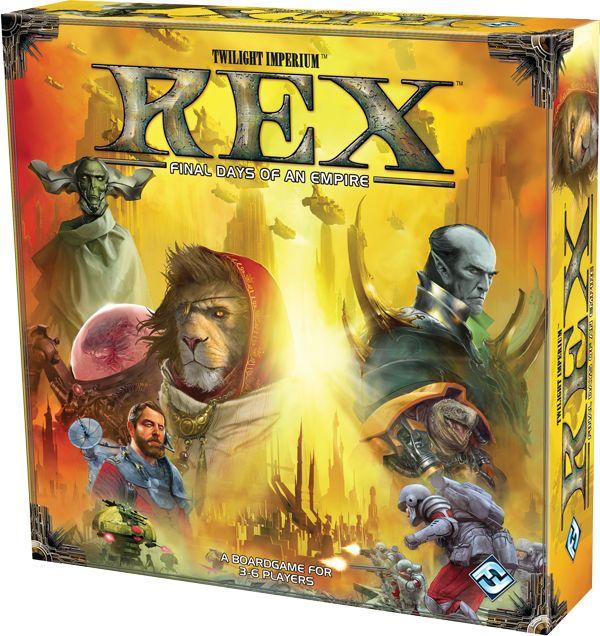 Twilight Imperium: Rex (engl.)