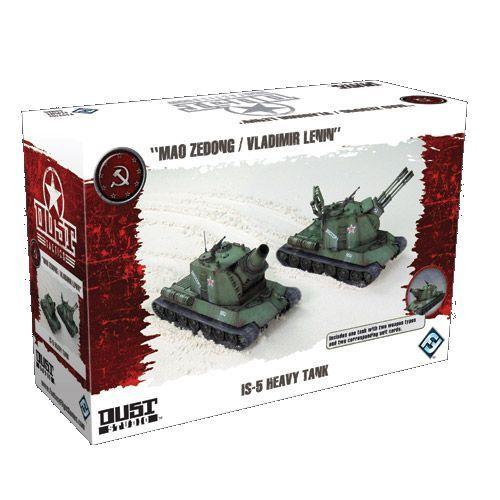 Dust Tactics: SSU IS-5 Heavy Tank (Exp.) (engl.)
