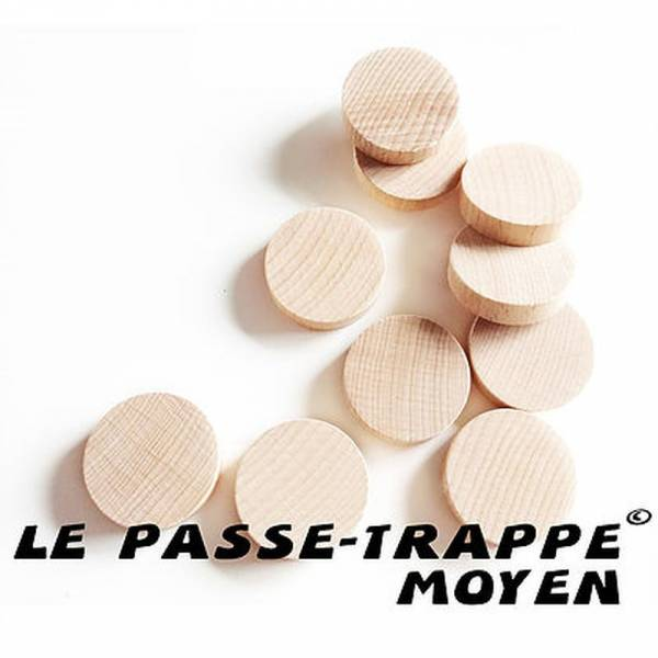 Passe-Trappe Discs 10x Mittel (Erw.)