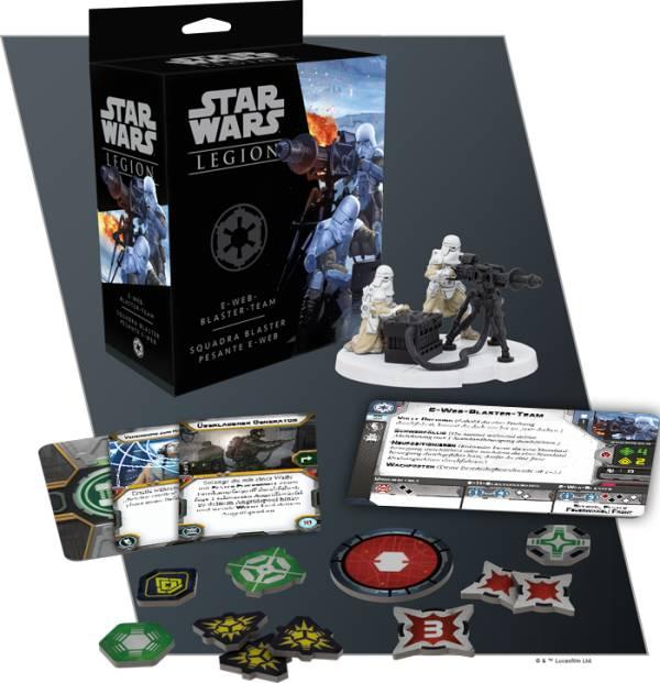 Star Wars: Legion - E-Web-Blaster-Team (Erw.)