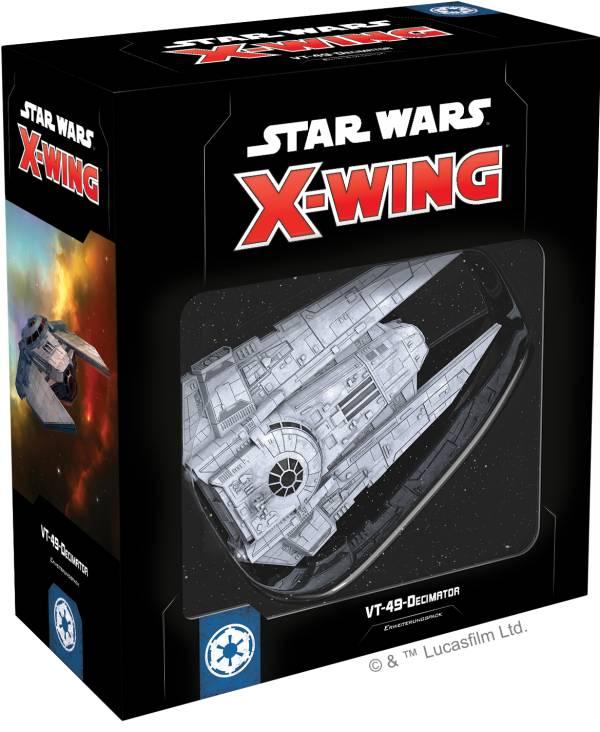 Star Wars: X-Wing 2.Ed. - VT-49-Decimator (Erw.)