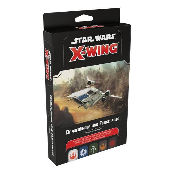 Star Wars: X-Wing 2.Ed. - Draufgänger und Fliegerasse (Erw.)
