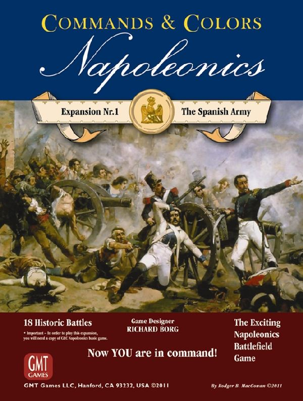 Commands & Colors Napoleonics: Spanish Army (Exp. 1) (engl.)