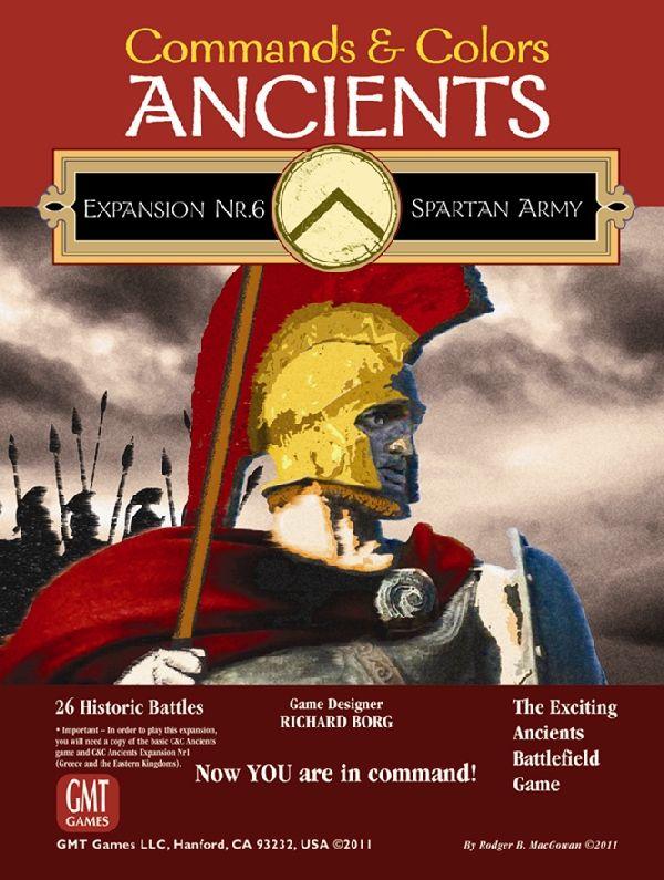 Commands & Colors Ancients: Spartan Army (Exp.) (engl.)