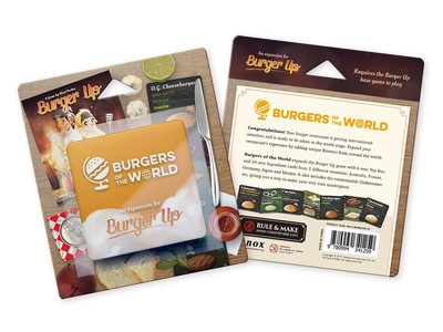 Burger Up: Burgers of the World (Exp.) (engl.)