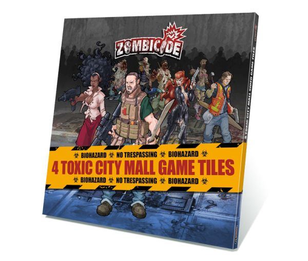 Zombicide: Toxic City Mall Tiles (Exp.) (engl.)