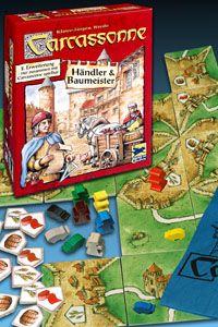 Carcassonne - Händler & Baumeister (Erw. 2)