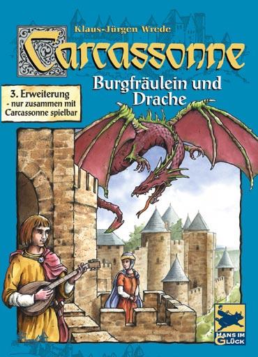 Carcassonne - Burgfräulein & Drache (Erw. 3)