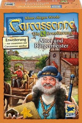Carcassonne 2. Ed.: Abtei und Bürgermeister (Erw. 5)