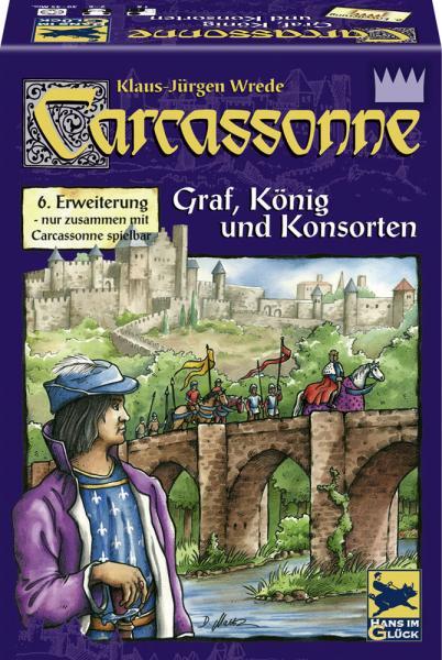 Carcassonne - Graf, König & Konsorten (Erw. 6)