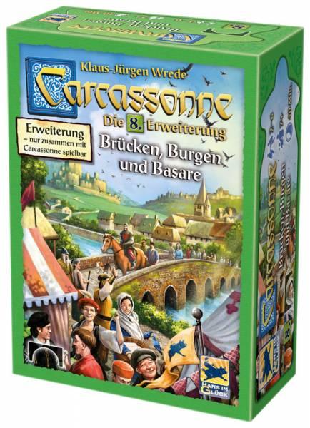 Carcassonne - Brücken, Burgen und Basare (Erw. 8)