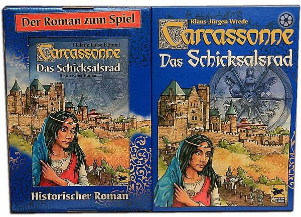 Carcassonne - Das Schicksalsrad (inkl. Roman)