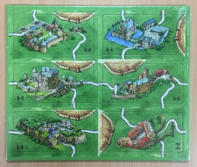 Carcassonne: Burgen in Deutschland (Promo)