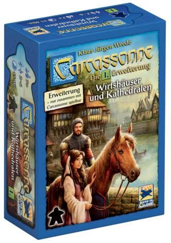 Carcassonne 2. Ed.: Wirtshäuser und Kathedralen (Erw. 1)