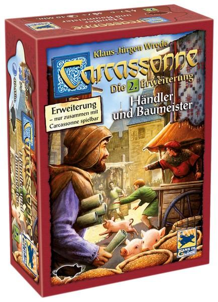 Carcassonne 2. Ed.: Händler und Baumeister (Erw. 2)
