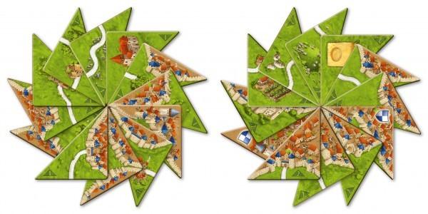 Carcassonne 2. Ed.: Halb so wild I II (Mini-Erw.)