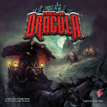 Fury of Dracula (deutsch)