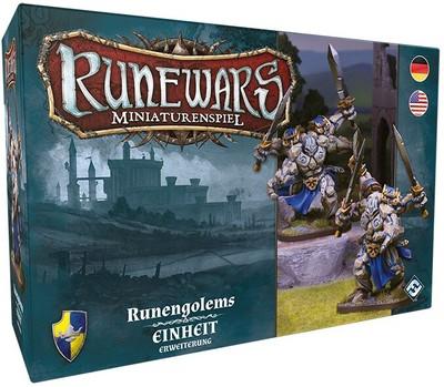 Runewars Miniaturenspiel - Runengolems (Erw.)