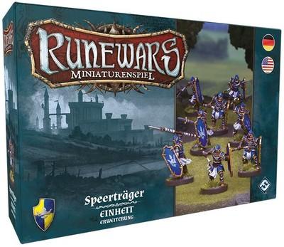 Runewars Miniaturenspiel - Speerträger (Erw.)