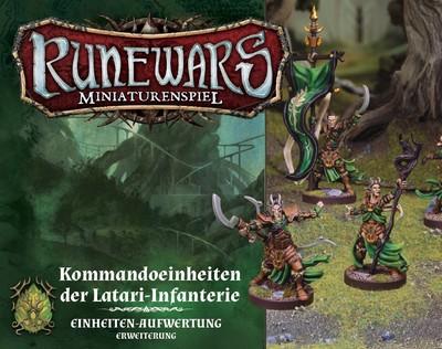 Runewars Miniaturenspiel - Kommandoeinheiten der Latari-Infanterie (Erw.)
