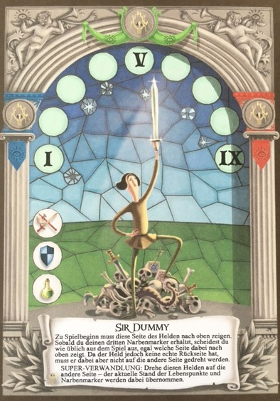 Dungeon Fighter: Sir Dummy (engl.) (Promo)