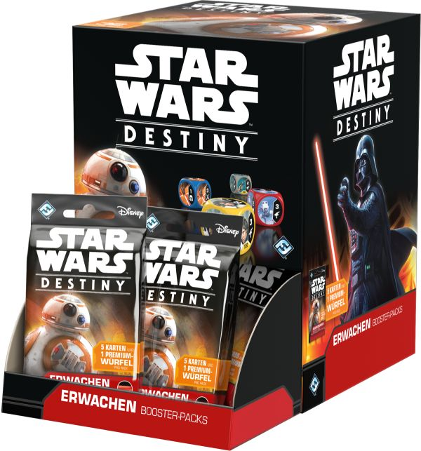 Star Wars: Destiny - Erwachen Booster (36-Display)