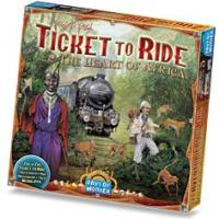 Zug um Zug (Ticket to Ride) Afrika (Erw.) (international)