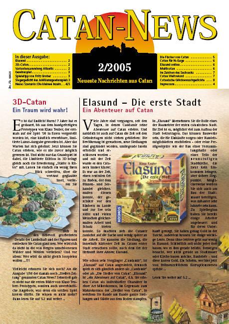 Catan-News 2/2005 (Zeitung)