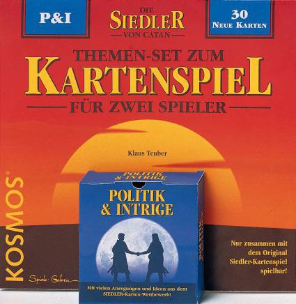 Siedler Themenset - Politik & Intrige