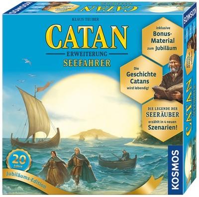 Catan - Seefahrer Jubiläums-Edition 3 - 4 Spiel...