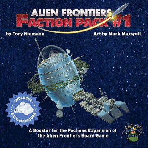 Alien Frontiers: Faction Pack #1 (engl.)