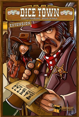 Dice Town: Wild West (Exp.) (engl.)