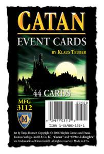 Catan Event Cards (engl.)