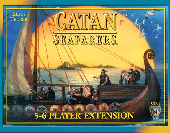 Settlers of Catan - Seafarers of Catan 5& 6 Pla...