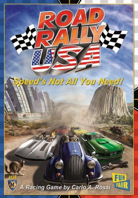 Road Rally U.S.A. (engl.)