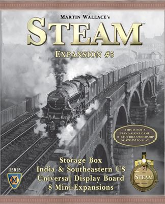 Steam: Rails to Riches (Map Exp. 5) (engl.)