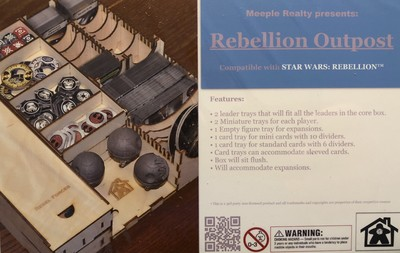 Rebellion Outpost Organizer