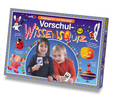 Vorschul-Wissensquiz ab 3J.