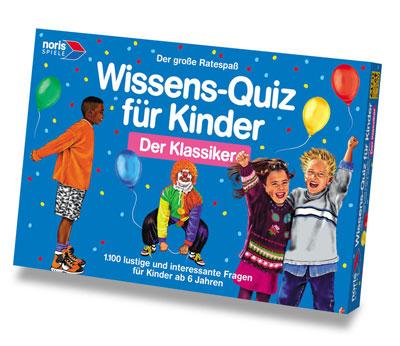 Wissensquiz für Kinder