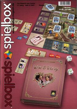 spielbox 2007 Heft 5 (inkl. Erw. für Zooloretto/Burg Appenzell)