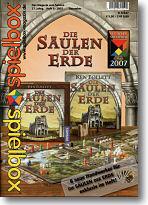 spielbox 2007 Heft 6 (inkl. Erw. für Säulen der...
