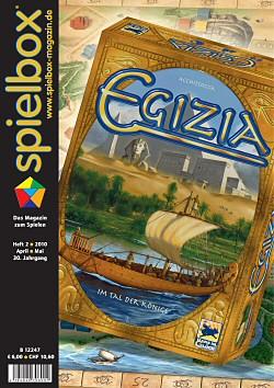spielbox 2010 Heft 2 (inkl. Finca-Erw. + Domini...