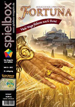 spielbox 2011 Heft 5 (inkl. 4 Spielpläne Burgen v. Burgund)