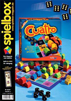 Spielbox 2013 Heft 6 (inkl. Mni-Erw. für Terra ...